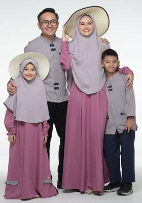 Nibras Sarimbit Family SK 69 Plum
