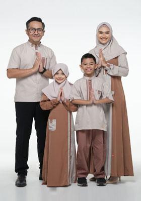 Nibras Sarimbit Family SK 70 Coklat Milo