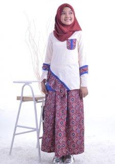 Model Baju Gamis Batik Rangrang Zarifahouse